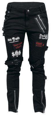 Punk Trousers by KuroNeko