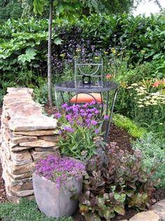 garten - trockenmauer - naturstein - rock wall - garten skulpturen, Garten und erstellen