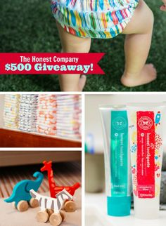 WIN IT | The Honest Company $500 Giveaway !! by Bird's Party
