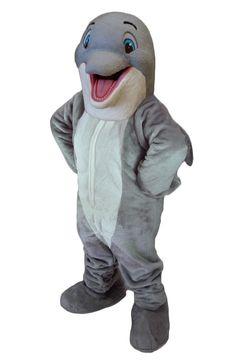 Buy Dolphin Mascot Costume 47319 Costume-Shop.com