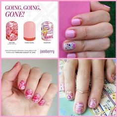 Jamberry Nails Going, going, gone! GGG! Get your's before they're gone! Megecon.JamberryNails.Com