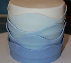 Fondant Wave Cake Tutorial: Make a Beachy Cake in No Time!