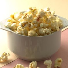 You can boost your mood instantly with Popcorn! Researchers  say it's because the complex carbs in popcorn boost the production of the feel-good chemical serotonin, by up to 42%! www.tesh.com
