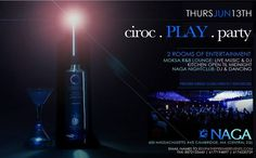 Naga brings you a Ciroc sponsored event with 2 rooms of entertainment!         ciroc. PLAY. party this Pulse Thursday         Moksa R Lounge - Live Music & DJ :: kitchen open till midnight    Naga Nightclub: DJ & Dancing         Tables/Info - Bottle Specials available, contact alex@nagacambridge.com or 617.955.4900    Website: www.nagacambridge.com  Like us on Facebook: Naga  Follow us on Twitter: nagacambridge