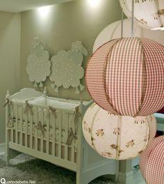 quarto de bebê ovelhinhas
