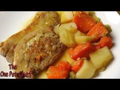 Slow Cooked Smothered Pork Chops - RECIPE - YouTube