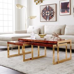 DwellStudio Newell Nesting Coffee Table