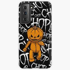 """Pumpkin Serial Killer Knife Chop Halloween"" Case & Skin for Samsung Galaxy by GrandeDuc   Redbubble"