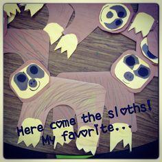 For my classroom bulletin boards haah! three toed sloths