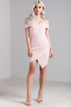 Full View Seventh Heaven Mini Dress in Blush