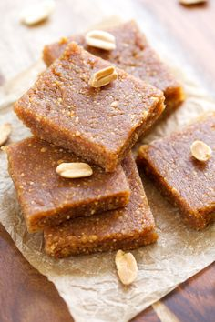Peanut Butter Cookie Energy Bars. Fuel for fitness.