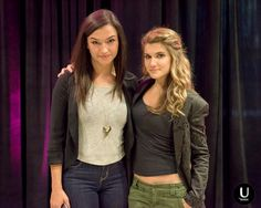 Natasha Negovanlis and Elise Bauman