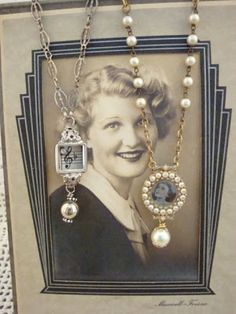 My Salvaged Treasures: Repurposed Necklaces made from watches!