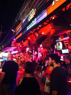 Bangla Street Thailand is the center of.rated R version Thailand Nightlife, Travel Abroad, Phuket, Night Life, Kai, China, Street, Roads