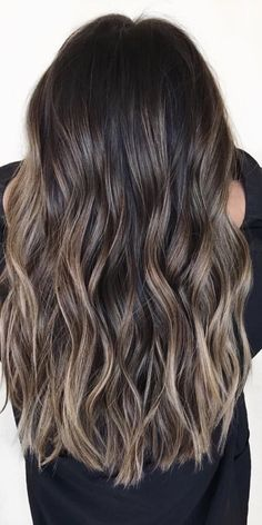 Balayage Hair Color Ideas for Brunettes in - Beauty Tips . - Balayage Hair Color Ideas for Brunettes in – Beauty Tips - Brown Hair Shades, Brown Blonde Hair, Light Brown Hair, Brown Hair Colors, Ashy Hair, Grey Light, Ash Brown Hair With Highlights, Cool Tone Brown Hair, Dark Brown Hair With Highlights Balayage