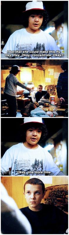 1x03 Dustin and Eleven