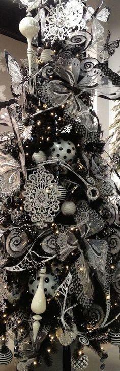 ideas-para-decoracion-de-navidad-blanco-y-negro (26)