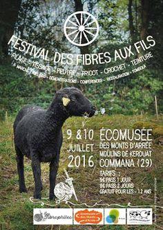 Fée des Mailles: Festival Breton : des Fibres aux Fils