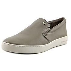 Michael Michael Kors Keaton Slip On Women US 10 Gray Loafer *** Read more @