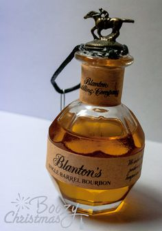 Blantons Christmas Ornament Bourbon Whiskey by BoozyChristmas, $14.50