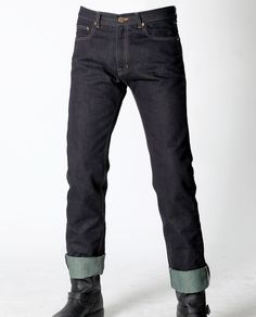 uglyBROS ECHO-K, DuPont Kevlar® weave yarn Denim, Regular Straight cut Moto pants