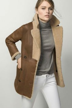 Double-sided Reversible Coat by Massimo Dutti c37c3c2d7add