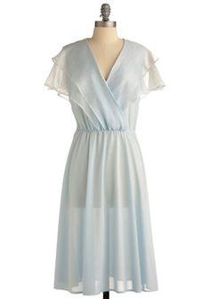 Vintage Something Blue Dress, #ModCloth