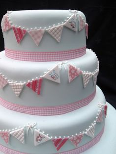 wedding cakes bunting - Google Search
