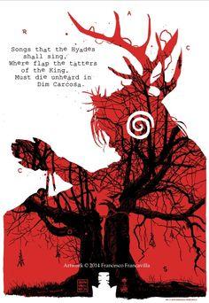 True Detective, Art Print by Francesco Francavilla