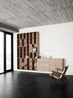 MK40880 Shelf from Carl Hansen & Son. #Design by Mogens Koch.