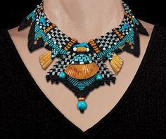 Barbara Natoli Witt. Beautiful collection of necklaces on her website!