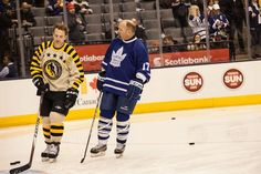 Legends Classic Game at Air Canada Centre Sees New Inductees Take to the Ice