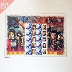 #Mint #Australian #HarryPotter and the Goblet of Fire #postage #stamps, unopened in original plastic wrap. $17 including U.S. shipping  #yardsale #garagesale #forsale