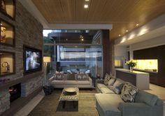 Diseño de Interiores & Arquitectura: Moderna Residencia Sydney Rodeada por una Piscina Infinita
