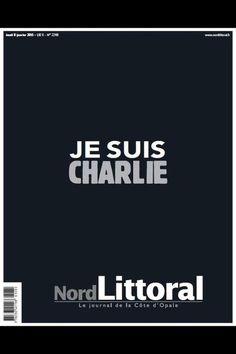Charlie Hebdo : La Une de Nord Littoral du 8 janvier 2015.