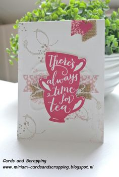 Cards and Scrapping: Bloghop Around the World Stampin' Up! Challenges