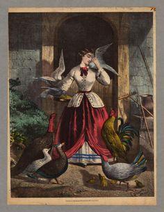 Kimmel & Forster, lithographer, 1864 civil war era fashion
