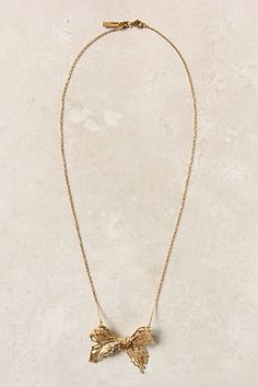 Gilded Needlepoint Necklace #anthropologie. In a word: Fab
