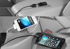 Acessórios Honda Civic - Cabo auxiliar P2 / iPod® / USB