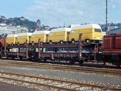 Volkswagen Transporter, Volkswagen Bus Camper, Vw Kombi Van, Vw Bus T2, T2 T3, Old Steam Train, Combi Vw, Vw Group, Railroad Photography