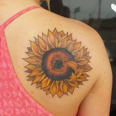 200 Enticing Sunflower Tattoo Designs And Their Meanings awesome