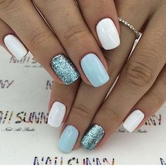 Beautiful everyday nail look and for special occasions!