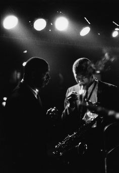 Backstage at the Metronome, New York City, 1960, Jazz / Music - WILLIAM CLAXTON