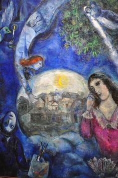 """Marc Chagall """"Autour d'elle"""""""