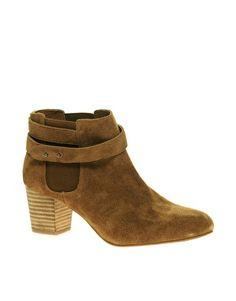 ASOS ALPINI Suede Chelsea Ankle Boots