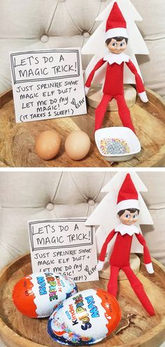 of the Best Elf on the Shelf Ideas Elf Dust - Over 40 of the BEST Elf on the Shelf ideas!<br> Over 40 of the BEST Elf on the Shelf ideas! Such a fun Christmas tradition that the kids just and these ideas are so fun and cute! Xmas Elf, Noel Christmas, All Things Christmas, Christmas Crafts, Christmas Elf Decorations, Christmas Bedroom, Christmas Presents, Christmas Activities, Christmas Traditions