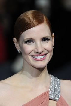 Jessica Chastain | 17 Dramatic Celebrity Eyebrow Evolutions Of 2015