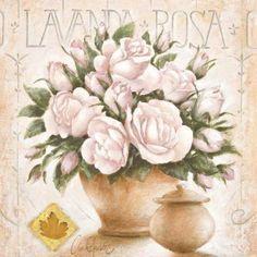 LAMINAS... Y TRABAJOS CON FLORES (pág. 176) | Aprender manualidades es facilisimo.com Paper Flowers Craft, Flower Crafts, Paper Crafts, Decoupage Vintage, Vintage Pictures, Greeting Cards Handmade, Vintage Flowers, Quilting Designs, Art Images