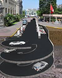 Resultado de imagen para estacionamiento subterraneo medidas