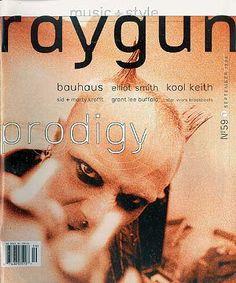 Raygun Magazine Cover The Prodigy